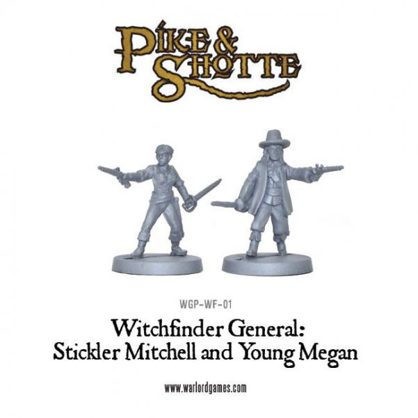 28mm Pike & Shotte - Witchfinder General: Young Megan and Stickler Mitchell