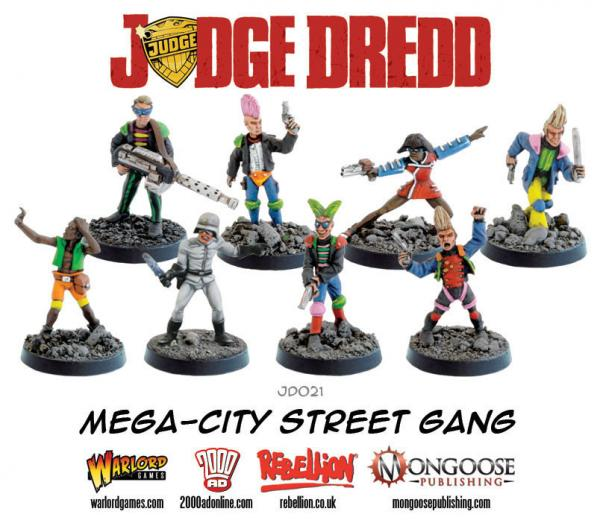 Judge Dredd: Mega City Street Gang