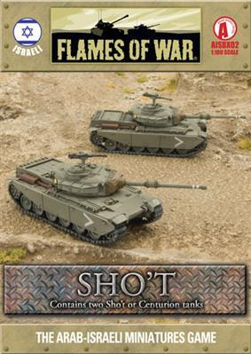 Flames Of War (Arab/Israeli War): (Israeli) Sho't