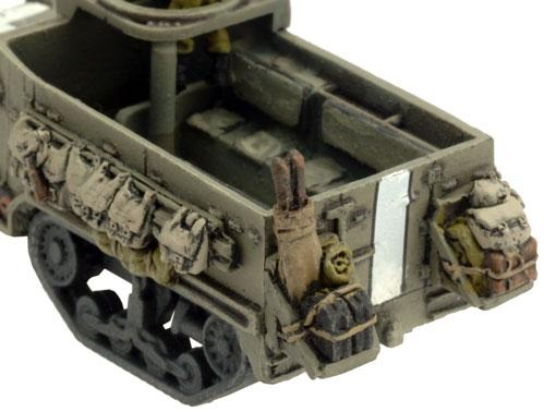 Flames of War: M3 Halftrack Stowage