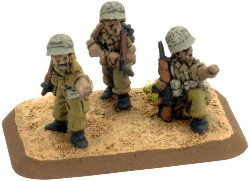 Flames of War - Israeli: Ch'ir Mamochan (Motorised) Platoon