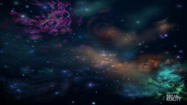 GripMat: Nebula (24''x42'', Anti-Slip Play Mat)