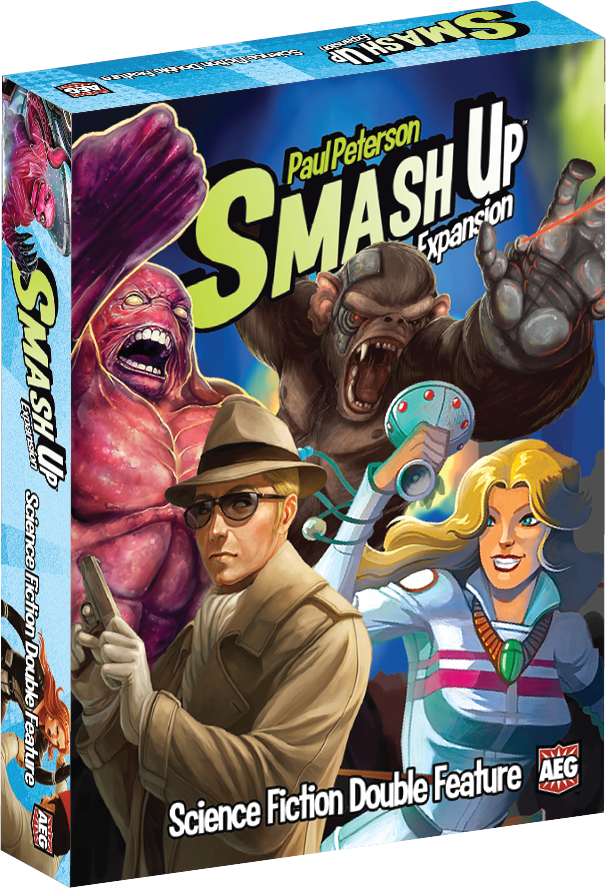 Smash Up: Science Fiction Double Feature (Expansion)