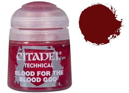Citadel Technical Paints: Blood for the Blood God