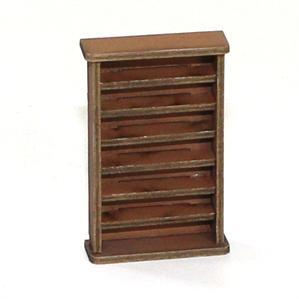 28mm Furniture: Light Wood Large Bookshelf