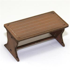 28mm Furniture: Light Wood Farm Table