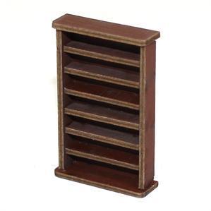 28mm Furniture: Medium Wood Large Bookshelf
