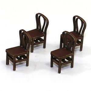 28mm Furniture: Medium Wood Bentwood Back Chair