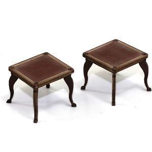 28mm Furniture: Medium Wood Table (B)