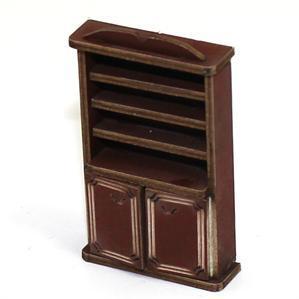28mm Furniture: Medium Wood Book Shelf Cupboard