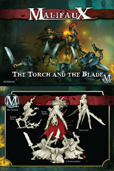 Malifaux: (The Guild) The Torch & The Blade