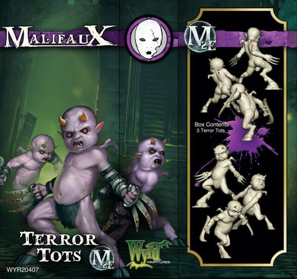 (The Neverborn) Terror Tots Box (3)