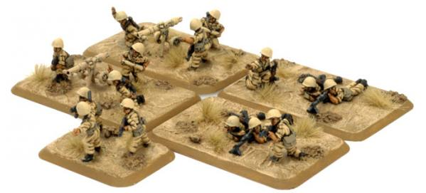 Flames of War: Meshah Meykaneykeyh Company HQ