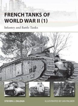 [New Vanguard #209] French Tanks of World War II (1)