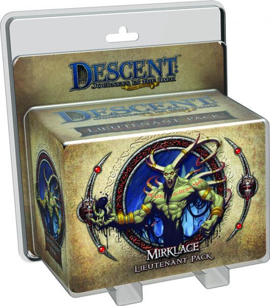 Descent: Gargan Mirklace Lieutenant Pack