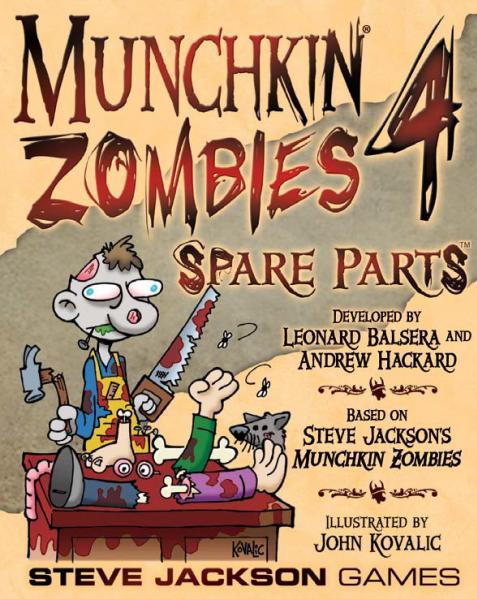 Munchkin Zombies 4: Spare Parts (Expansion)