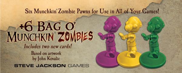 Munchkin Quest: +6 Bag O' Munchkin Zombies