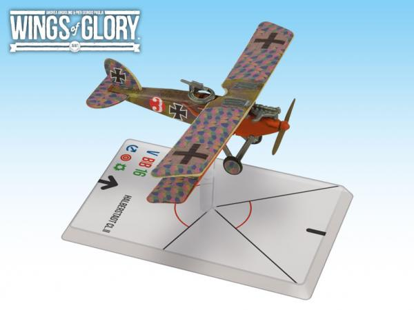 Wings Of Glory WWI Miniatures: Halberstadt CL.II (Schwar ze/Schumm)