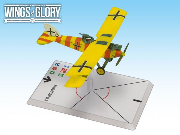 Wings Of Glory WWI Miniatures: Halberstadt CL.II (Niemann/Kolodzicj)