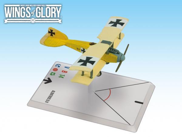 Wings Of Glory WWI Miniatures: Albatros D.II (Szepessy-Sokoll)