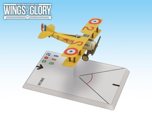Wings Of Glory WWI Miniatures: Spad S.VII (Guynemer)