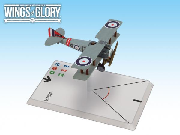 Wings Of Glory WWI Miniatures: Spad S.VII (23 Squadron)