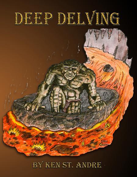 Tunnels & Trolls RPG: Deep Delving (Solitaire Adventure)