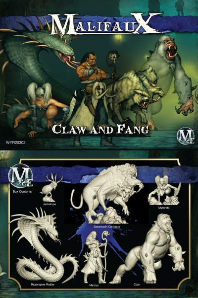 (The Arcanists) Claw & Fang (Marcus Crew Box)
