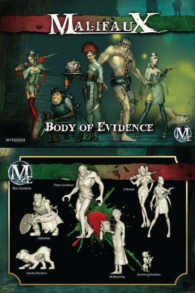 Malifaux: (The Resurrectionists) Body Of Evidence (McMourning Crew Box)