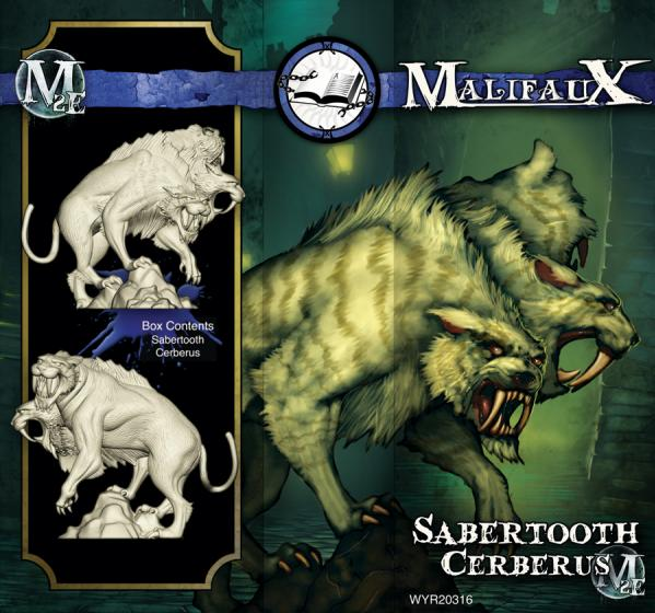 (The Arcanists) Sabertooth Cerberus