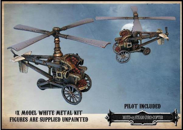 Empire of the Dead: Steam Gyrocopter