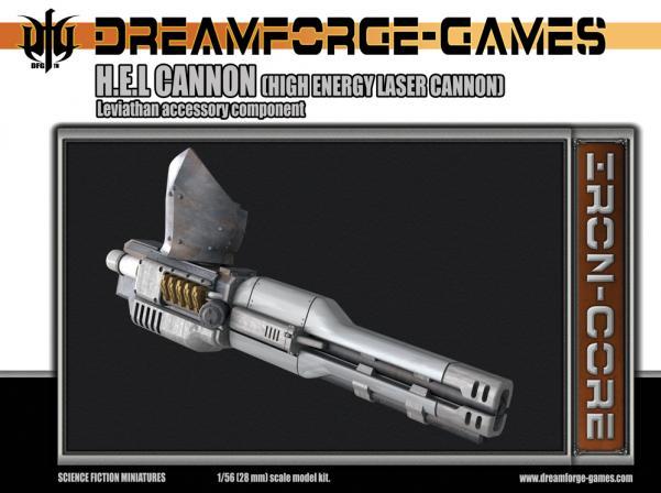 Leviathan H.E.L Cannon  Weapon