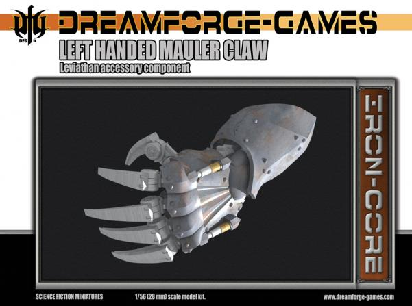 Leviathan Left-Handed Mauler Claw