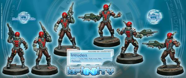 Infinity (#445) Nomads: Intruder, Corregidor Assault Commando (MULTI Sniper)