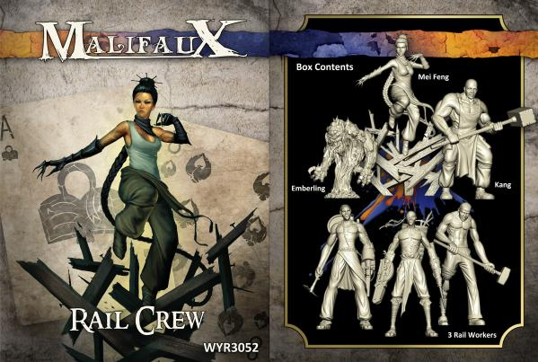 Malifaux: (The Arcanists) Rail Crew Box Set