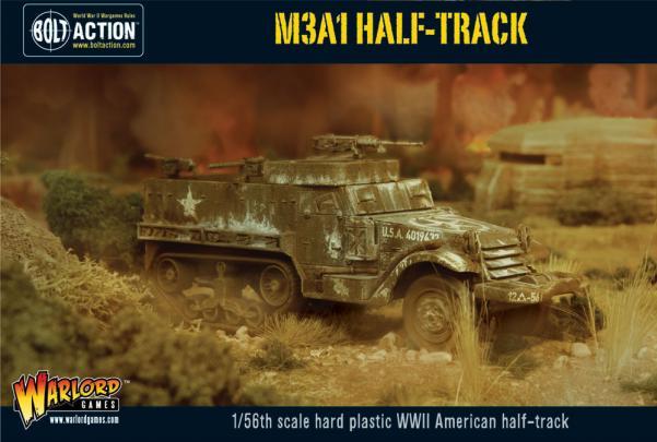 (USA) Armoured Fist (x3 Halftracks & x30 Infantry)