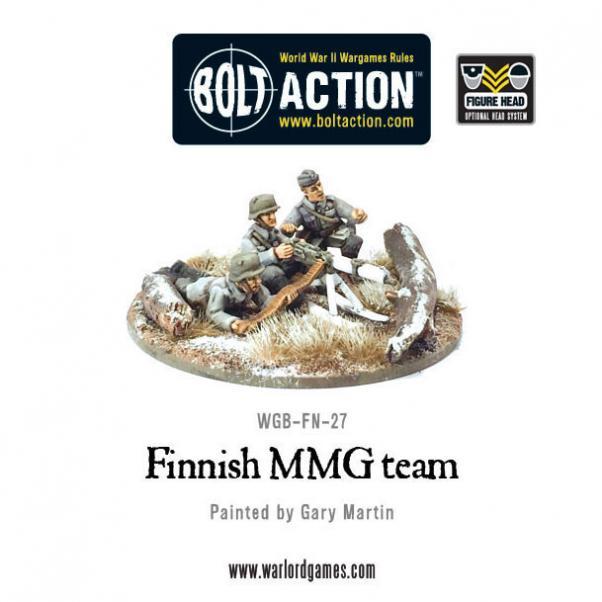 Bolt Action: (Finnish) MMG team