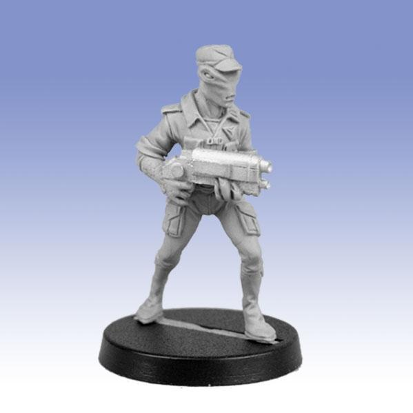 Bombshell Miniatures: Security Officer