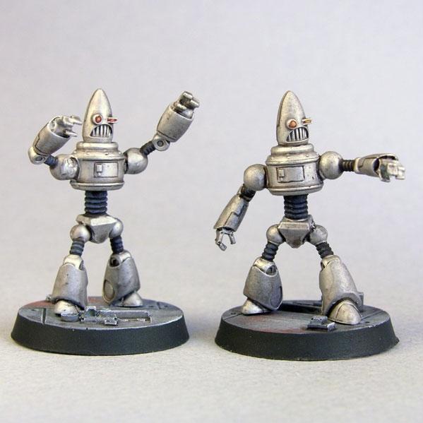 Bombshell Miniatures: BdE Bots