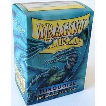 Dragon Shields: Classic Turquoise Card Sleeves (100)