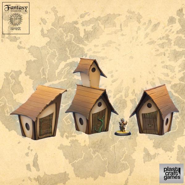 28mm Fantasy: Bird Houses