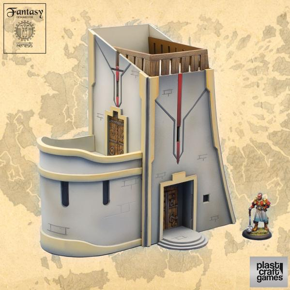 28mm Fantasy: Small Palace