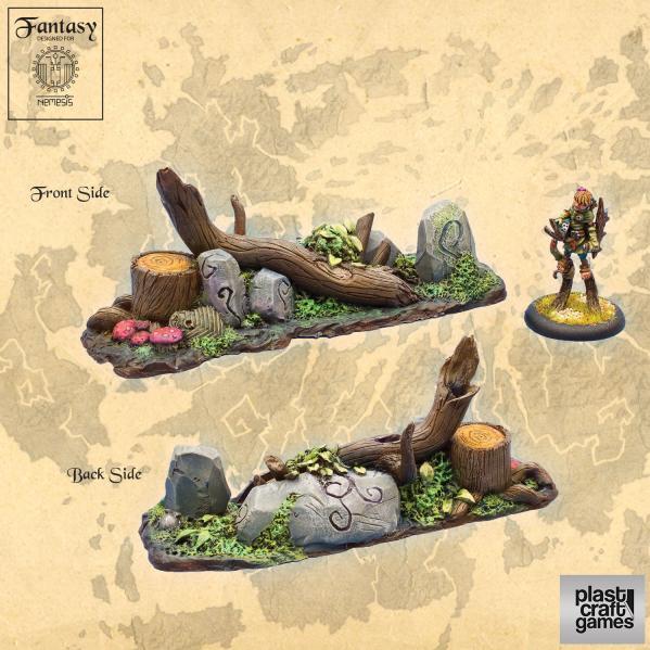 28mm Fantasy: Forest Barricade