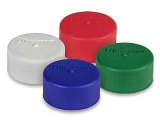 Assorted Standard Colors Play Mat Tube Caps (2-Pack)