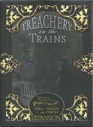 Professor Pugnacious Expansion: Treachery On The Trains