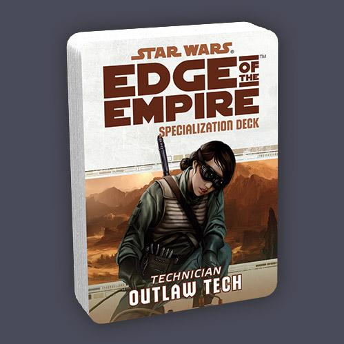 Edge of the Empire RPG: Specialization Deck - Outlaw Tech