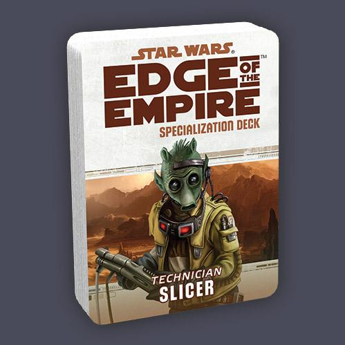 Edge of the Empire RPG: Specialization Deck - Slicer