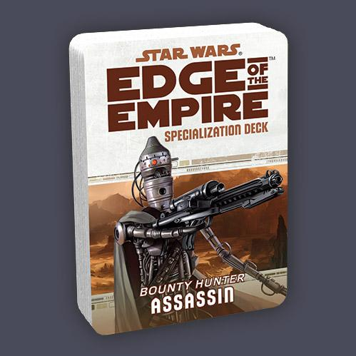 Edge of the Empire RPG: Specialization Deck - Assassin