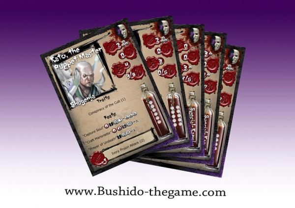(Cult Of Yurei) Card Pack 1