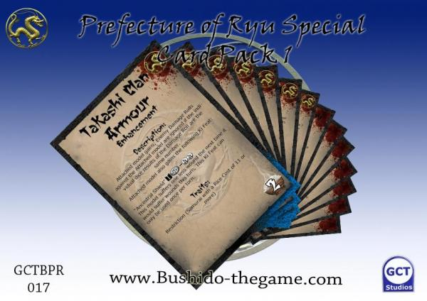 (Prefecture Of Ryu) Card Pack 1